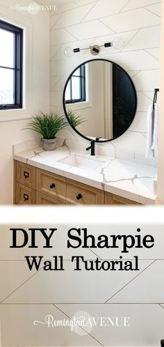 Easy Geometric Sharpie Wall Tutorial home diy Easy Geometric Sharpie Wall Tutorial - Remington Avenue Home Decor Styles, Home Decor Accessories, Cheap Home Decor, Diy Home Decor, Sharpie Wall, Sharpie Doodles, Geometric Wall Paint, Paint Your House, Home Remodeling Diy