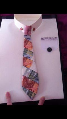 Krawatte Geldgeschenk