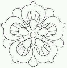 Mandala Pattern, Mosaic Patterns, Mandala Design, Quilt Patterns, Hand Embroidery Patterns, Beaded Embroidery, Embroidery Designs, Bible Coloring Pages, Mandala Coloring Pages