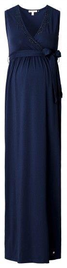 Ženska haljina bez rukava za trudnice ESPRIT MATERNITY - tamnoplava