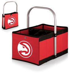 Atlanta Hawks Urban Basket by Picnic Time – Cooler Time