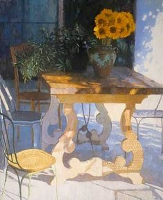 Nicholas Verrall, Sunflowers in the Shade