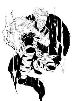 Zeno - Hunter x Hunter Zeno Zoldyck, Kalluto Zoldyck, Hisoka, Killua, Hunter Hunter ヒソカ, Zoldyck Family, Manga Tattoo, Gakuen Babysitters, Yoshihiro Togashi