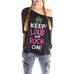 Abbey Dawn by Avril Lavigne - Keep It Loud Tee