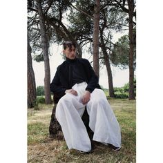 Damir Doma Silent Coat featured in Born Back Story, Photographed By Olimpia Rende for Boycott Magazine.