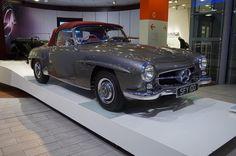 Gorgeous 1960 Mercedes Benz #190SL (#W121). Pic via instagram (elliottcole44) / #BruceAdams190SL #190SLRestorations