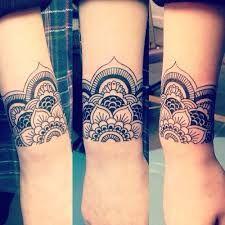 Image result for mandala tattoo wrist