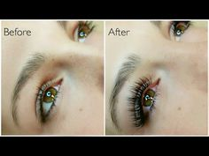 Eyelash Extensions - how to put on eyelashes extensions
