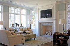 Tv Above Fireplace Design, Pictures, Remodel, Decor and Ideas - page 18