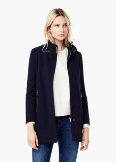Funnel Neck coat