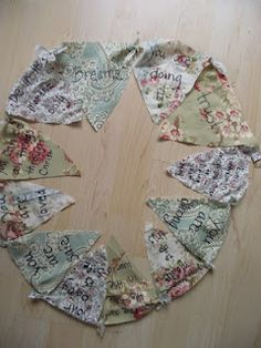 Labor Blessing Bunting...I LOVE THIS!!!  neat activity for prayer shower :)