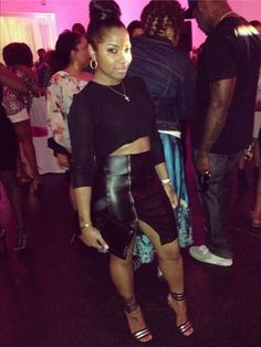 Wherever she was, Toya Wright was the most stlylish woman at this event. Passion For Fashion, Love Fashion, Girl Fashion, Fashion Outfits, Fashion 101, Fashion Ideas, Night Outfits, Cute Outfits, Black Outfits