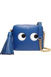 Anya Hindmarch Eyes embossed leather shoulder bag