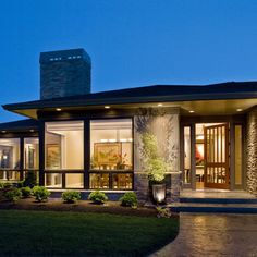 Contemporary Exterior Photos Design, Pictures, Remodel, Decor and Ideas - page 11