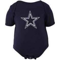 4babaa370d7 Infant Dallas Cowboys Navy Logo Premier Bodysuit, $14.99 Nfl Merchandise, Dallas  Cowboys Outfits