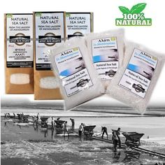 100% Natural raw sea salt of Messolonghi Greece from ANCIENT GREEK PRODUCTS. The most delicious and healthy salt in the world.