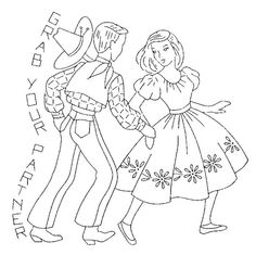 SQUARE DANCE - Grab your partner