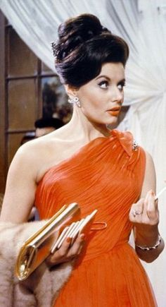 Eunice Gayson as Trench, Sylvia Trench in Dr. No. She was supposed to be a recurring love interest for James, but the producers decided that James Bond shouldn't have a girlfriend... and look how that turned out.