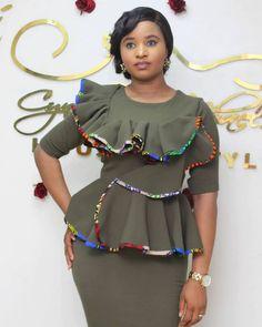 Stylish Ankara Skirt And blouse Inspiring And Stylish Ankara skirt and Blouse Styles