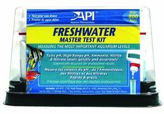 Water Tests and Treatment 77659: Api Freshwater Master Test Tap Water Complete Kit Healthy Aquarium Over 800 Test -> BUY IT NOW ONLY: $37.85 on eBay!