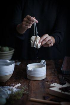 Chocolate Earl Grey Truffle Tart + Sea Salt & Olive Oil - The Kitchen McCabe