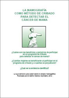 La mamografía como método de cribado para detectar el cáncer de mama Welcome, Health Education, Health Professional