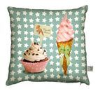 Vanille Fraise Cushionnow featured on Fab Laissez Lucie Faire, Discount Designer, Decorative Items, Decorating Your Home, Cuddling, Diaper Bag, Branding Design, Coin Purse, Objects