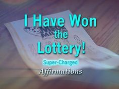 Lottery Winning Genius - Lady Luck Showers Down on Me - Super-Charged Affirmations Prosperity Affirmations, Money Affirmations, Positive Affirmations, Lottery Winner, Winning The Lottery, Law Of Attraction Money, Law Of Attraction Quotes, Positive Thoughts, Positive Quotes