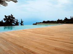 Pavimento deck en madera, PVC y hormigón ELYSIUM by CORA' LEGNAMI