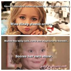 Be true to yourself! Who knew Honey Boo Boo could be an inspiration?