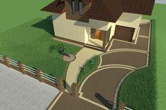 Mosaic Diy, Site Plans, Mosaic Designs, Baseball Field, House Plans, Pergola, How To Plan, Landscape, Garden