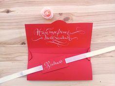 Конверт для грошей - особливе оформлення для банального подарунку #конвертдляденег #monkeyART #майстернякаліграфії #calligraphy #каліграфія #каллиграфия #wedding