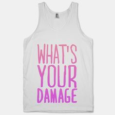 What's Your Damage (Tank) | HUMAN