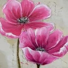 Modern flowers pictures 100 x 100 cm - free shipping !!!!