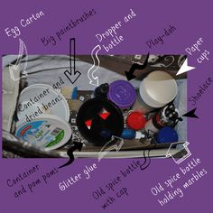 The Ultimate Preschool Activity Bag! 20 Items - Hours of Fun! - www.MiddleWayMom.com