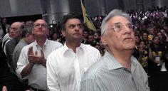 Atores do golpismo  A mídia oposicionista é outro ator importante do golpe, ela recorta a realidade sem mostrar que a gênese da corrupção na Petrobras está no governo FHC.