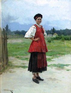 Николай Корнилович Пимоненко (1862-1912) Молодиця