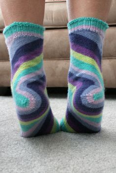 Skew by Lana Holden free knitting pattern on Ravelry Knitting Patterns Free, Knit Patterns, Free Knitting, Free Pattern, Crochet Socks, Knit Or Crochet, Knitting Socks, Knit Socks, Knitting Projects
