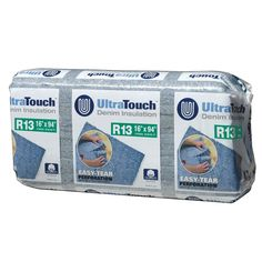 UltraTouch 16.25 in. x 94 in. R13 Denim Insulation (12-Bags)-10003-01316 - The Home Depot