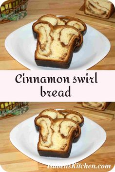 Cinnamon swirl bread recipe - isabell's kitchen