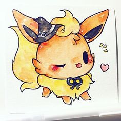 witch flareon  #inktober adopted by @fromkino