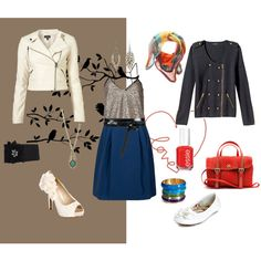 Day to NIght <3, created by marcella88 on Polyvore