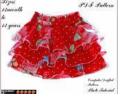 Emma Twirl Girls Skirt Pattern + Free Mother-Daughter Apron Pattern, Girls Shorts Pattern Skort Sewing Patterns on ETSY Toddler Girls Skirt Patterns, Baby Clothes Patterns, Clothing Patterns, Childrens Sewing Patterns, Pdf Patterns, Pattern Sewing, Coat Patterns, Pattern Drafting, Blouse Patterns