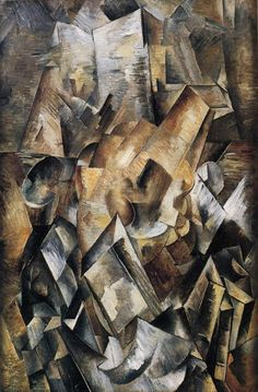 Still Life with a Metronome  Georges Braque    Size: 53.5x81.5 cm  Medium: oil, canvas