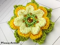 crochet flores - Buscar con Google