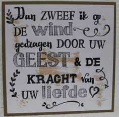 Gemaakt door Joke # Kaart gestempeld met de letters van Eline pellinkhof