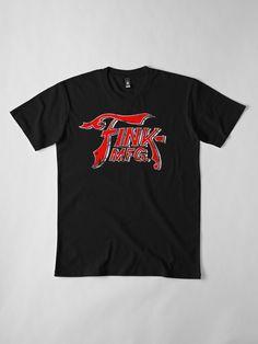 """""""Fink MFG - Grunge"""" T-shirt   #finkmfg #bioshockinfinite #bioshock #fink #logo #fps #videogame #gaming #columbia #vigor #vigors Grunge, Bioshock, My T Shirt, Columbia, Chiffon Tops, Shirt Designs, Gaming, Logo, Mens Tops"""