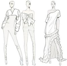 Fashion Illustration fashion-illustration-for-coloring