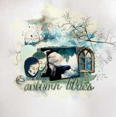 3rd Eye: Autumn Blues layout + TUTORIAL