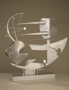 """Sculpture """"Ad Mare"""" by David Smith Geometric Sculpture, Metal Art Sculpture, Sculpture Projects, Steel Sculpture, Pottery Sculpture, Contemporary Sculpture, Abstract Sculpture, Contemporary Paintings, Wire Sculptures"""